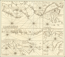 Canada and Eastern Canada Map By Gerard Van Keulen