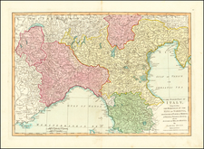 Northern Italy Map By Samuel Dunn