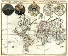 World and World Map By Pieter Mortier