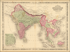 Johnson's Hindoostan And Farther India By Alvin Jewett Johnson