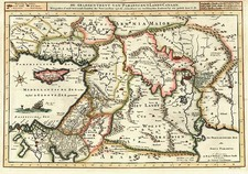 Europe, Mediterranean, Balearic Islands, Asia, Holy Land and Turkey & Asia Minor Map By R&J Wetstein