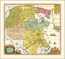 China Map By Peter Schenk  &  Gerard Valk