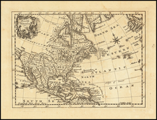North America Map By John Gibson