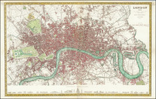 London Map By Joseph Meyer