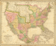United States Map By Henry Schenk Tanner