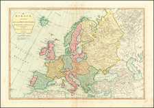 Europe Map By Robert Sayer / John Bennett