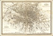 Paris Map By Joseph Meyer