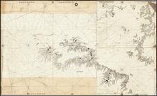North America, Central America, South America and America Map By Vesconte Maggiolo
