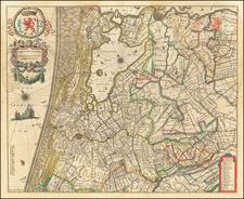 Netherlands Map By Willem Janszoon Blaeu