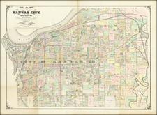 Missouri Map By G.M. Hopkins