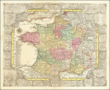France Map By Tobias Conrad Lotter