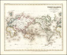 World Map By Joseph Meyer