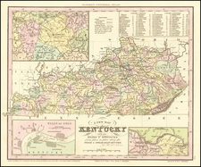 Kentucky Map By Henry Schenk Tanner
