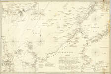 China Sea Sheet 1 (Singapore, Siam, Cambodia, Mindanao, Borneo) By James Horsburgh