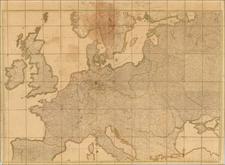 Europe Map By Jakob Friedrich Schmidt
