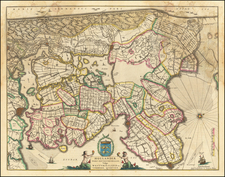 Netherlands Map By Johannes et Cornelis Blaeu