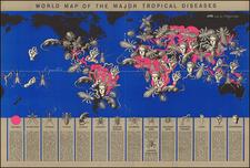 World Map of the Major Tropical Diseases By Boris Artsybasheff