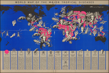 World and Pictorial Maps Map By Boris Artsybasheff
