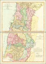 Holy Land Map By Samuel Dunn