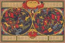 Pictorial Maps and Celestial Maps Map By Elizabeth Shurtleff
