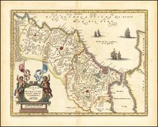North Africa Map By Mattheus Merian