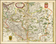 Poland and Baltic Countries Map By Matthaus Merian