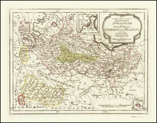 Germany Map By Franz Johann Joseph von Reilly