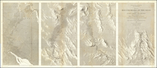 Southwest, Arizona, Nevada, New Mexico and California Map By Joseph C. Ives