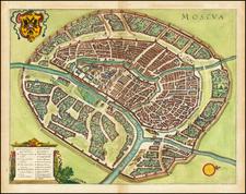 Moscua By Matthaus Merian