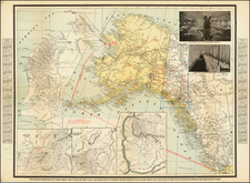 Alaska Map By Charles O.  Richardson