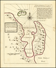 The Scots Settlement in America called New Caledonia A.D. 1699 . . . By Herman Moll