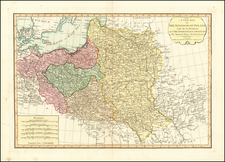 Poland, Russia and Baltic Countries Map By Laurie & Whittle