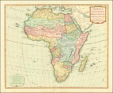 Africa Map By Samuel Dunn