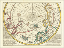 Polar Maps Map By Herman Moll
