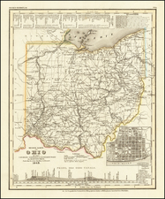 Ohio Map By Joseph Meyer