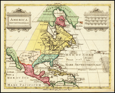 North America Map By Mathais Albrecht Lotter