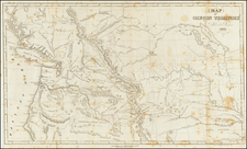 Plains, Rocky Mountains and Canada Map By Samuel Parker