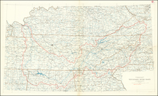 Tennessee Map By U.S. Geological Survey