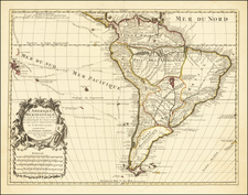 South America Map By Peter Schenk