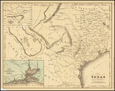 Texas Map By William McNally