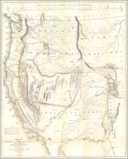 Map of Oregon and Upper California from the surveys of John Charles Fremont and others authorities drawn by Charles Preuss 1848  (with text report) By John Charles Fremont / Charles Preuss