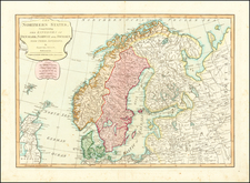 Baltic Countries and Scandinavia Map By Samuel Dunn