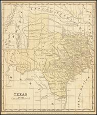 Texas Map By Daniel Burgess & Co.
