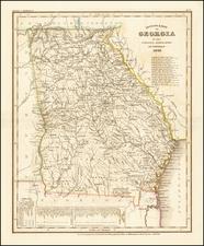 Georgia Map By Joseph Meyer