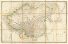 China and Korea Map By Sanbō honbu