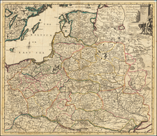 Poland and other the Countries belonging to the Crowne According to the Newest Observation 1719 By John Senex