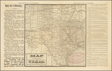 Texas Map By Texas Products and Progress