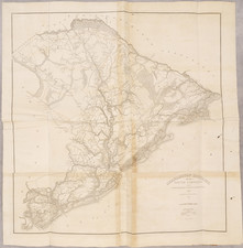 South Carolina and Atlases Map By Robert Mills