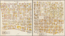 Los Angeles and Atlases Map By Sims Survey & Service