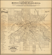 Minnesota Map By Geo. Rice & Sons